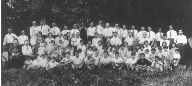 Community Picnic, July 4, 1928